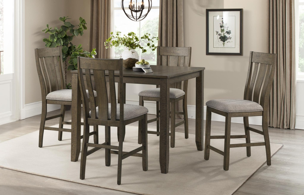 Lane Home Furnishings Dining Room 5 Piece Counter Height Dining Set 5046 53 Carol House Furniture