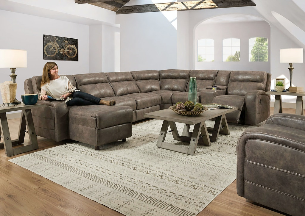 Superb Lane Living Room Reclining Sectional 57002 08L 02A 07 62R Evergreenethics Interior Chair Design Evergreenethicsorg