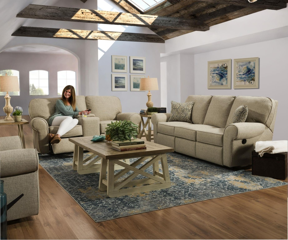 Lane Living Room Double Motion Sofa Macintosh Sage Dupont Prussian 57005 53 9741b Home Rooms