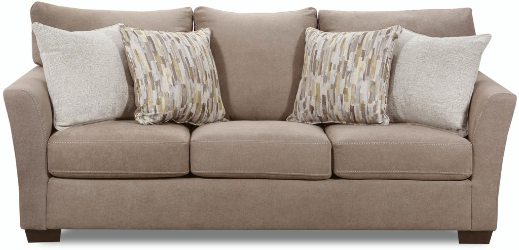 Lane Home Furnishings Living Room Sofa Pacific Mocha Highway Citrine Cruze Coconut 7058 03 9260a