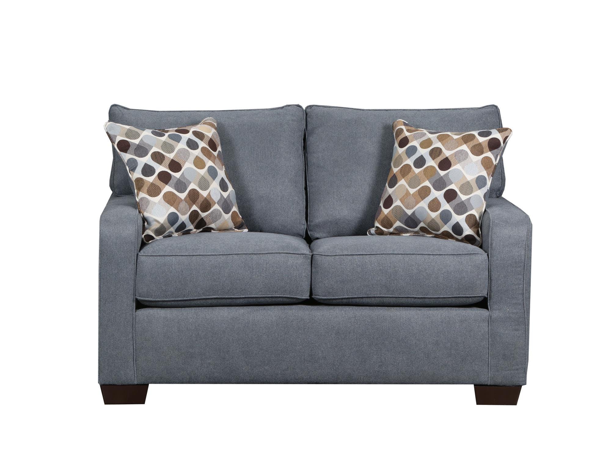 Lane Home Furnishings Living Room Loveseat Mia Denim Swivel Desert 9025 02 9166a Homeplace