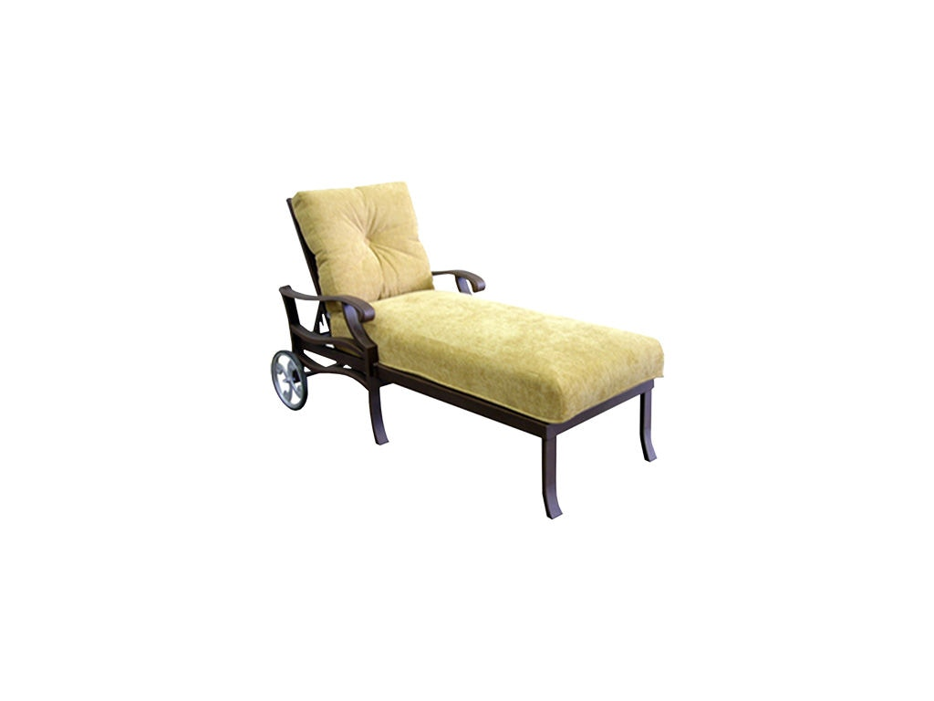 Mallin Casual Outdoor Patio Cushion Chaise An 515 Mcarthur