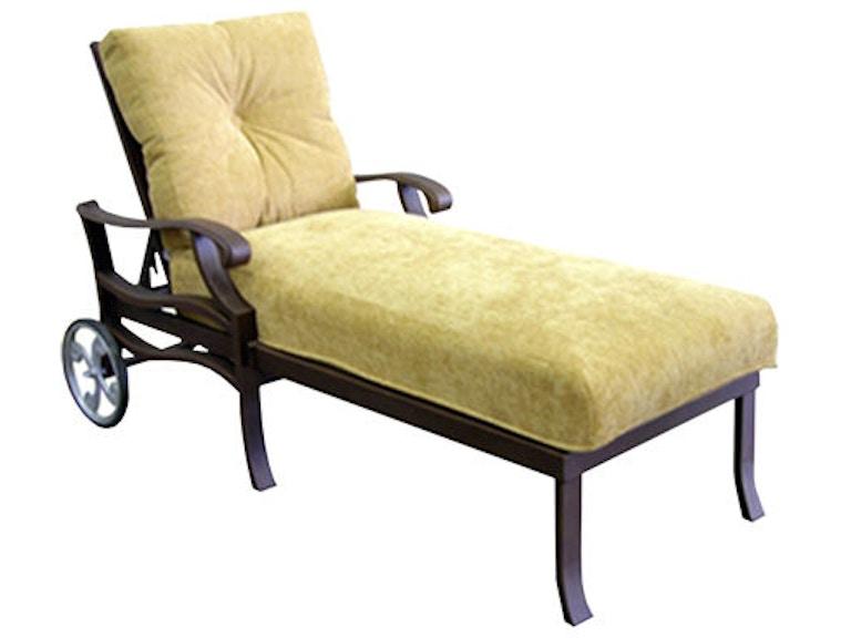 Mallin Casual Outdoor Patio Cushion Chaise An 515 Mcarthur