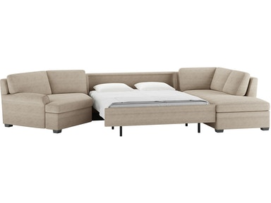 Peachy 3 Piece Sleeper Sectional Queen Size Gamerscity Chair Design For Home Gamerscityorg