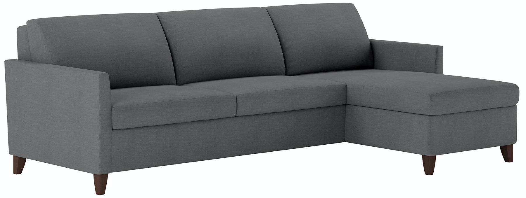 American Leather Living Room 2 Piece Sleeper Sectional Queen Size