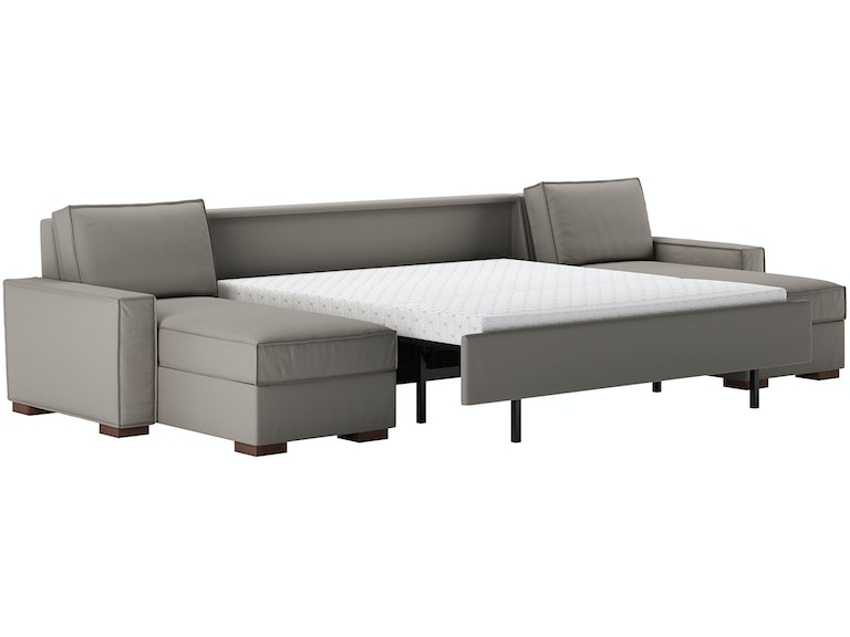 Living Room 3 Piece Sleeper Sectional