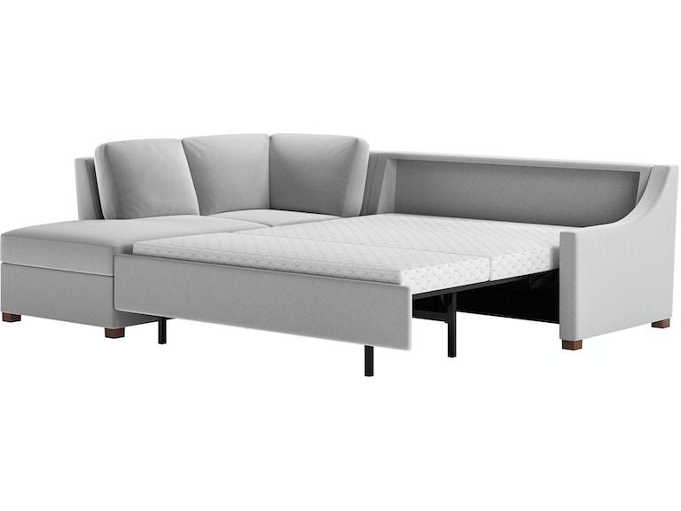 Living Room 2 Piece Sleeper Sectional