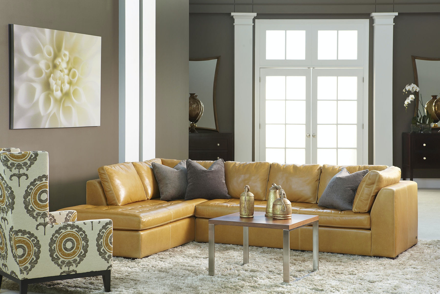 American Leather Astoria Sectional ARI SECT2