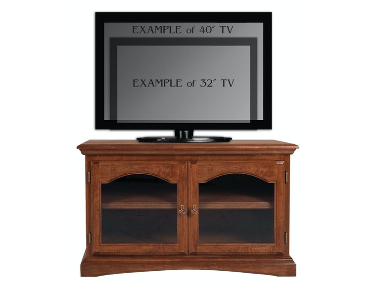 Abalone Lindsay 26in TV Stand - A AW1380-A