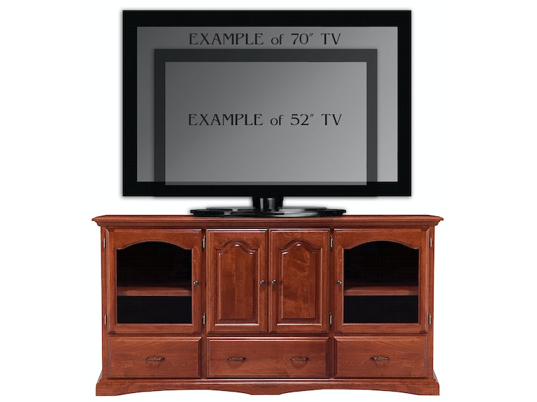 Abalone Lindsay 36in TV Stand - E AW1381-E