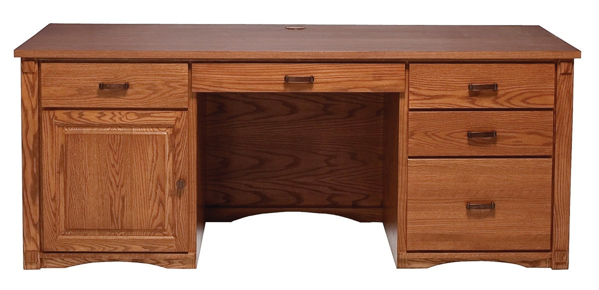 Abalone Spencer Double Desk AW2282