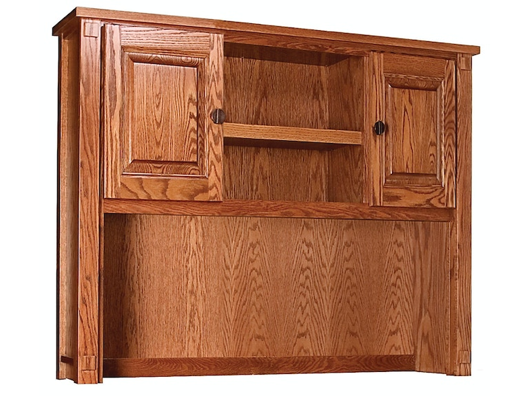 Abalone Spencer Narrow Desk Hutch AW2291
