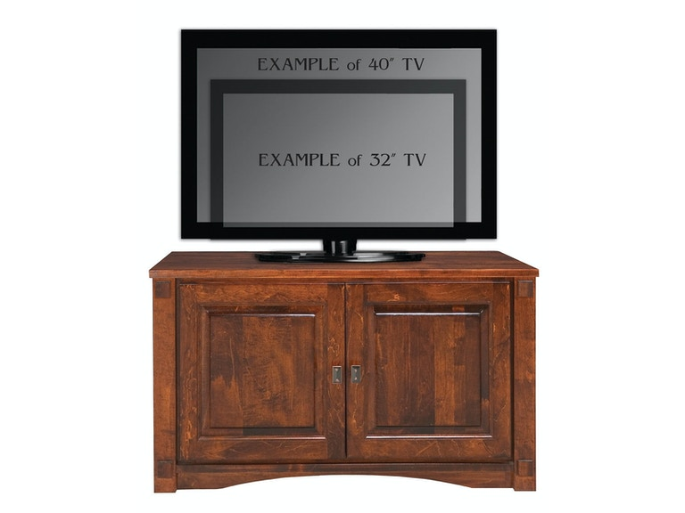 Abalone Spencer 26in TV Stand - A AW2380-A