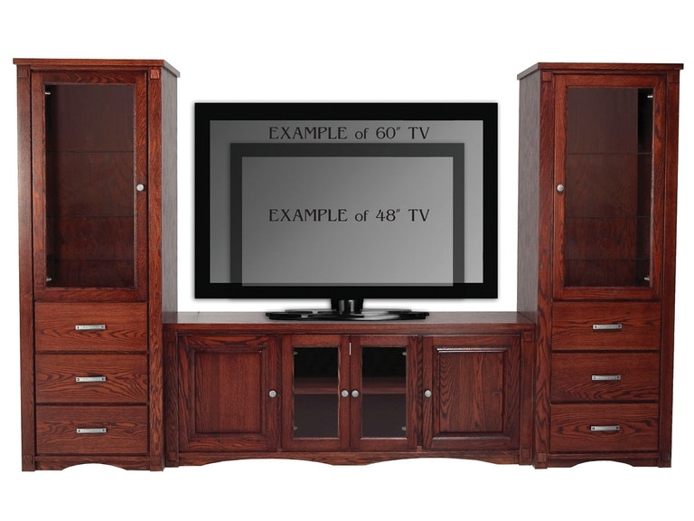 Abalone Spencer Entertainment Wall-26in Center - E AW2390-E
