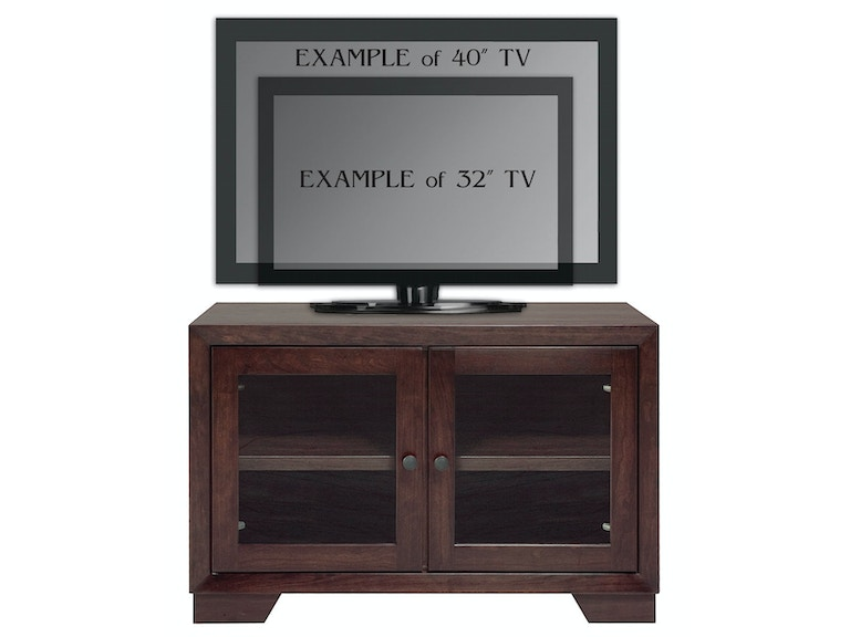 Abalone Nevaeh 26in TV Stand - A AW5380-A