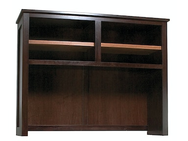 Abalone Sherwood 58in Desk Hutch AW7121