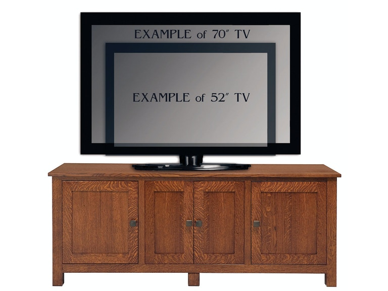 Abalone Sherwood 26in TV Stand - E AW7380-E