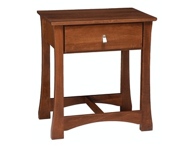 Abalone Marisol 1 Drawer Nightstand AW8910