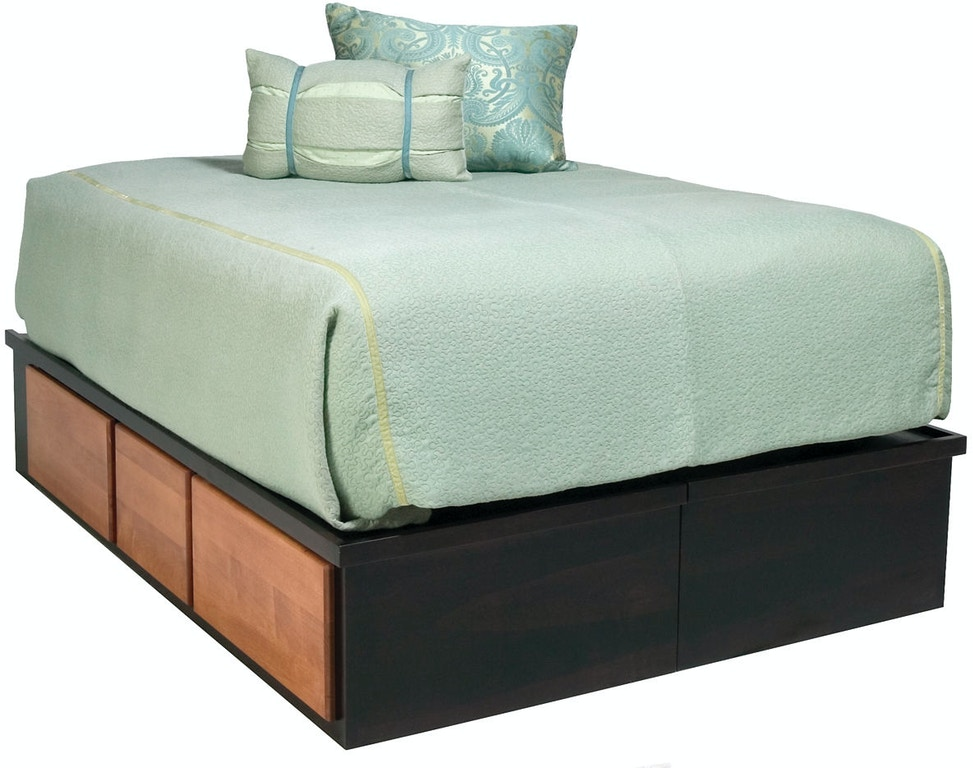 Bridgeport Bedroom Bed Drawers Bb2010 Penny Mustard