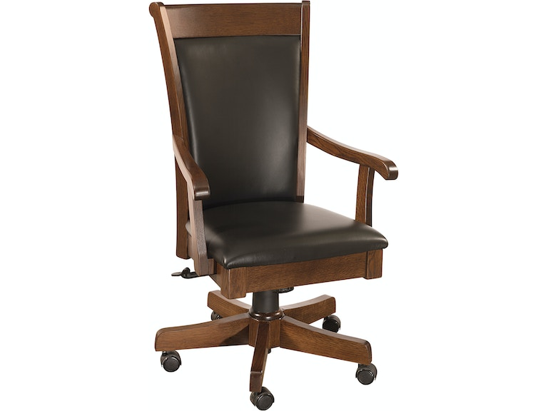 County Line Home Office Adele Arm Desk Chair Cl11203