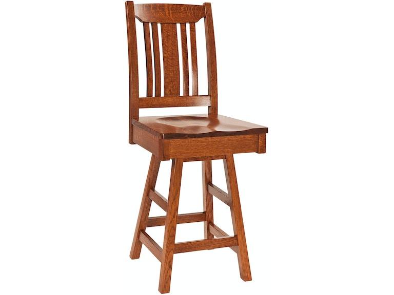 Amazing Garret 24 Stool Swivel Inzonedesignstudio Interior Chair Design Inzonedesignstudiocom
