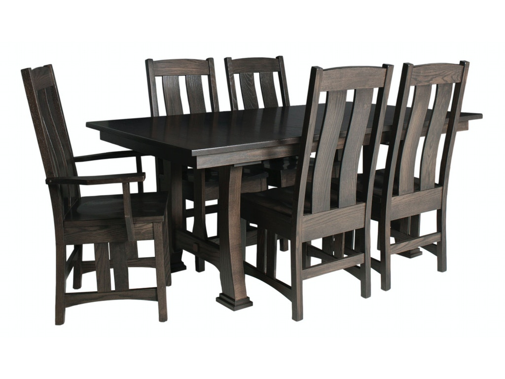 County line dining room copen 48x72 extension table cl4822 for Dining room tables milwaukee