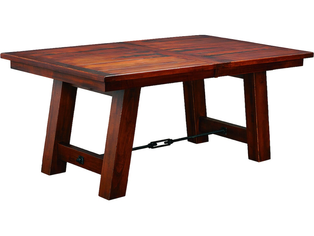 County line dining room oxbow 48x72 planked top table for Dining room tables milwaukee