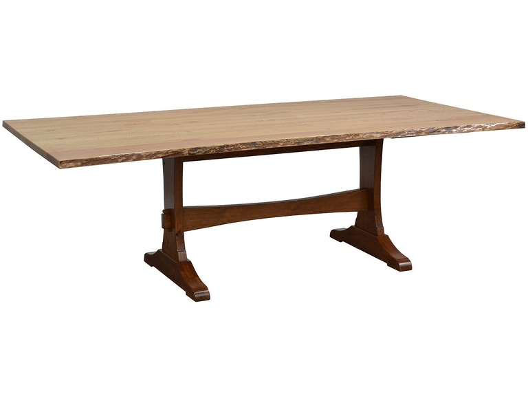 County line woads 48x96 live edge table cl4893 4896 for Dining room tables 96