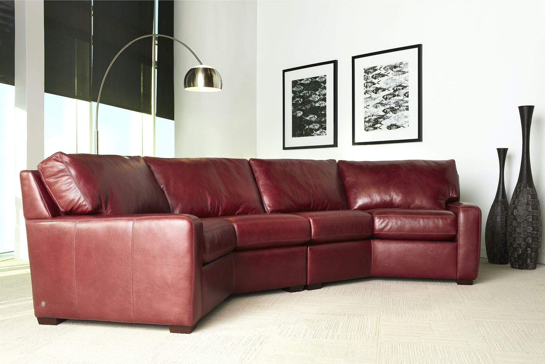 American Leather Carson Sectional CSN SECT1