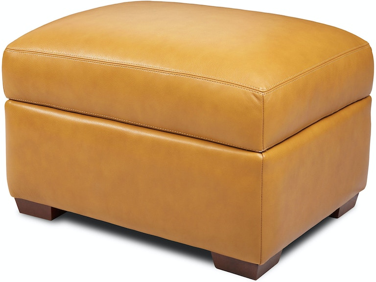 American Leather Living Room Storage Ottoman Csn Sto St