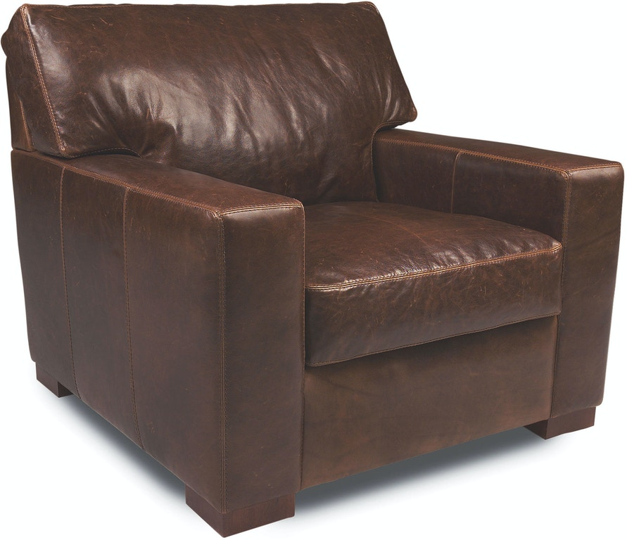 American Leather Living Room Chair DAN-CHR-ST - Penny Mustard ... 480988271