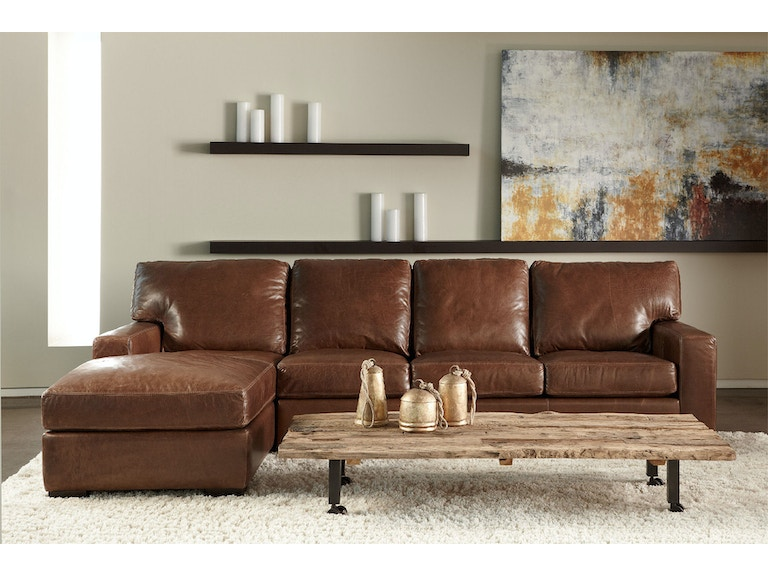 American Leather Danford Sectional Dan Sect1
