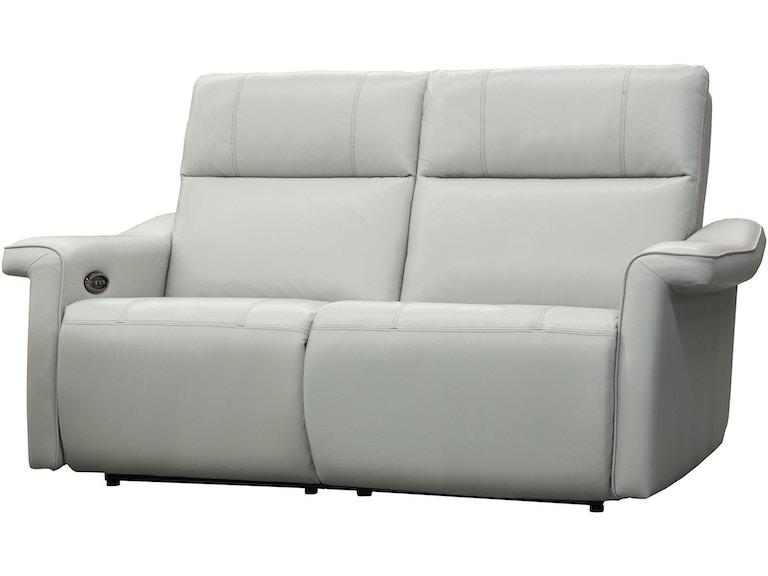 Elran Living Room Power Reclining Condo Sofa W Power Headrest Er40229 Oph Penny Mustard