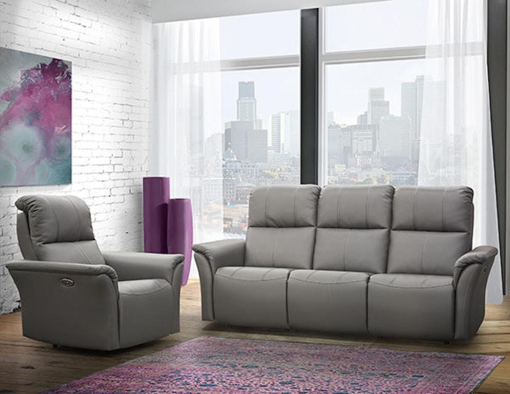 Elran Living Room Power Reclining Sofa W Power Headrest Er40316 Oph Penny Mustard Milwaukee