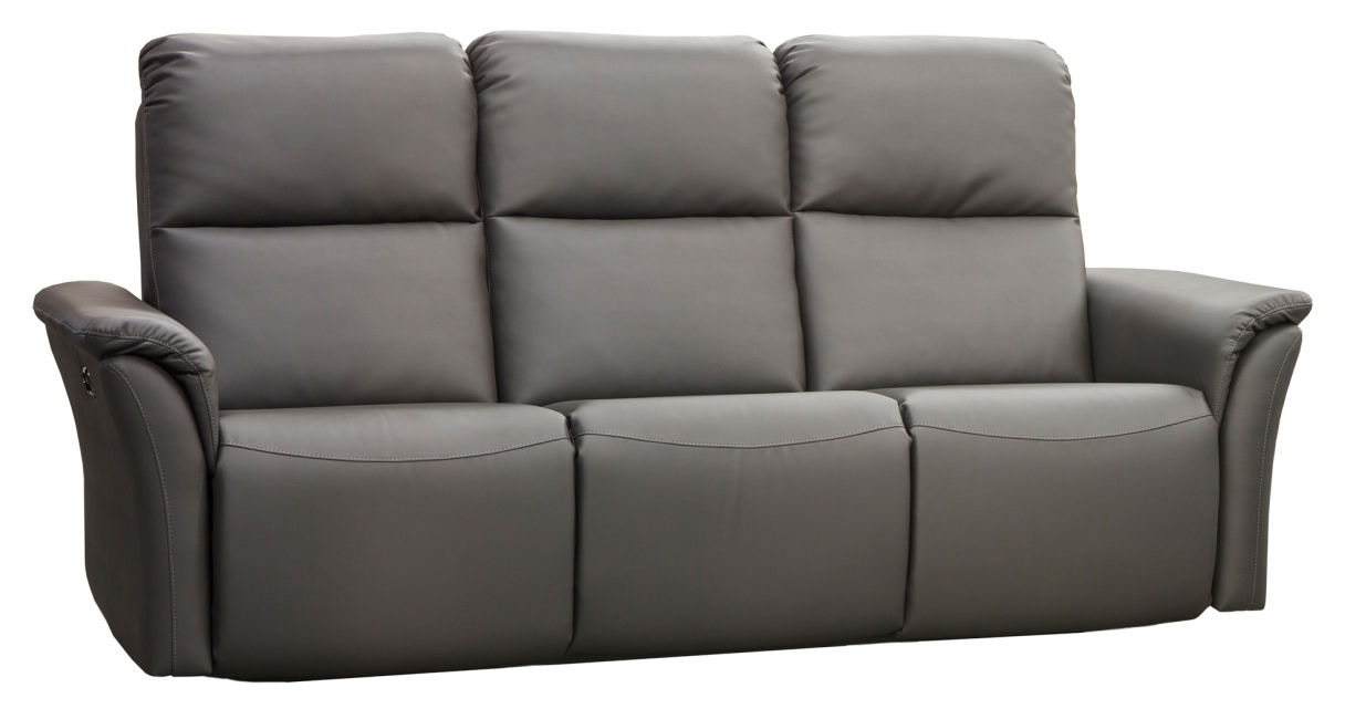 Elran Power Reclining Sofa W/Power Headrest ER40316 OPH