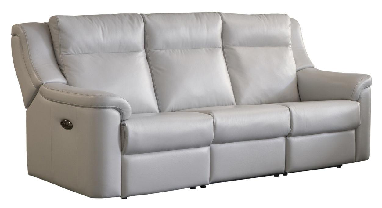 Elran Power Reclining Sofa W/Power Headrest ER40366 OPH