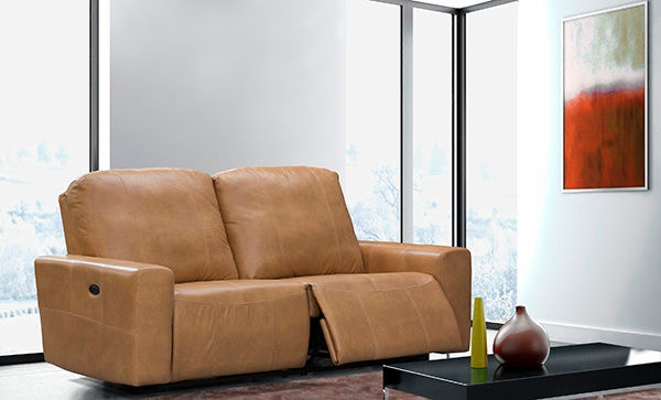Elran Reclining Condo Sofa   Power ER40439 OP