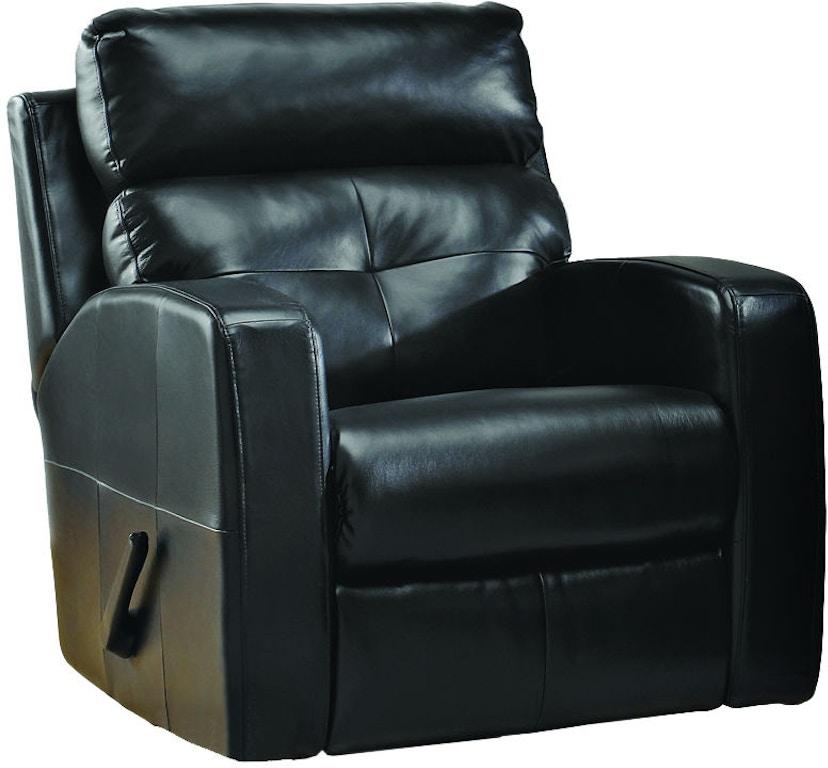 Elran Living Room Swivel Rocker Recliner Er40472 03