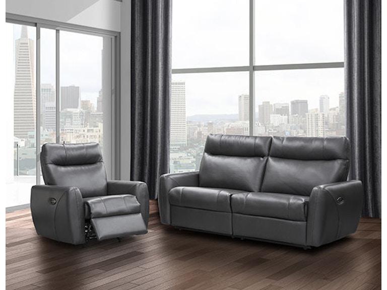 Elran Condo Sofa W Headrest Er40539 Oph