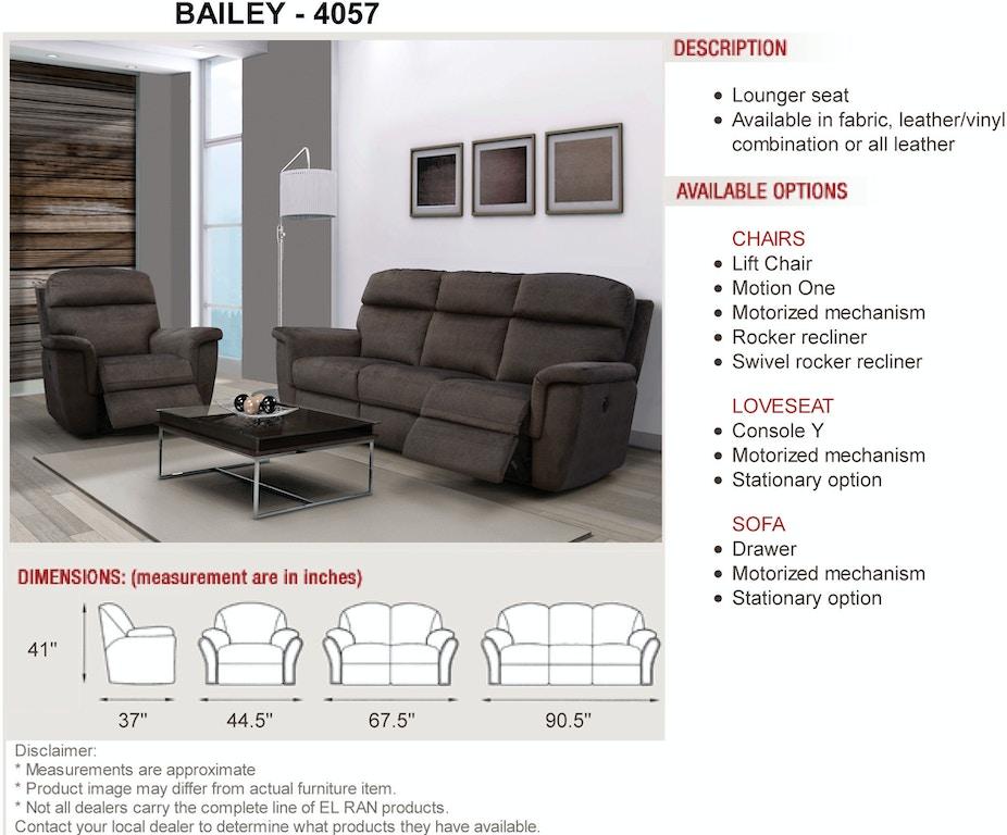 Elran Sofa Pack Er40576 Powp