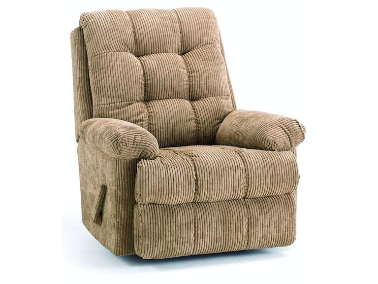 Elran Living Room Swivel Rocker Recliner Ert0492 03