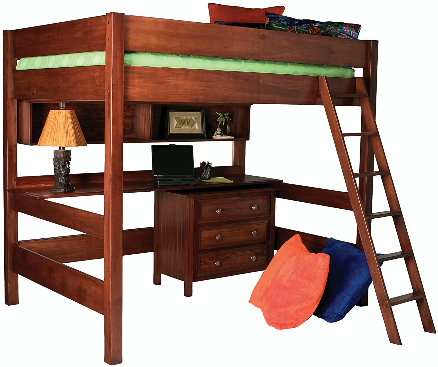 Northern Heritage Bedroom Fremont Bunk With Ladder Nh1020 Penny