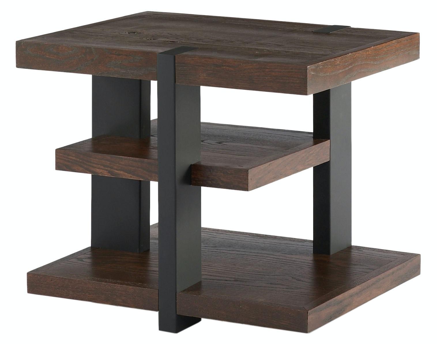 IZ1155 152. 1155 3 Shelf End Table