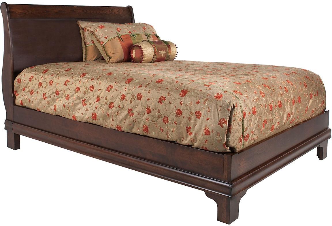 Mystic Creek Bedroom Sleigh Low Footboard Bed Mc5021