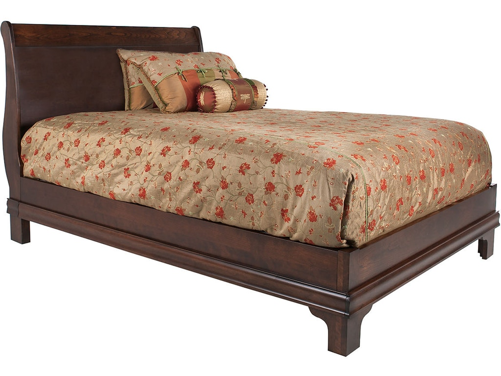 Mystic Creek Bedroom Sleigh Low Footboard Bed Mc5021