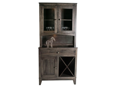 Mystic Creek Dana 1Dr Hutch & Buffet-Wine MC8002-1W