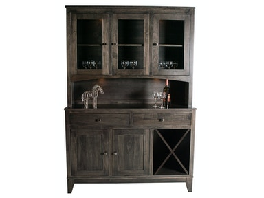 Mystic Creek Dana 2Dr Hutch & Buffet-Wine MC8002-2W