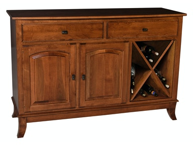 Mystic Creek Brie 2 Drawer Buffet-Wine MC8005-2W
