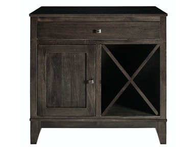 Mystic Creek Dana 1 Drawer Buffet-Wine MC8007-1W