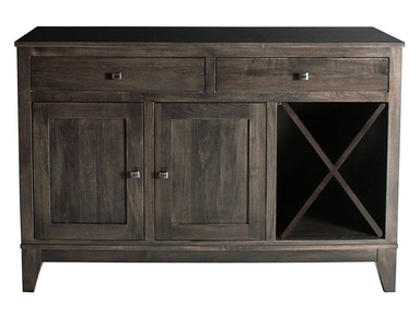 Mystic Creek Dana 2 Drawer Buffet-Wine MC8007-2W